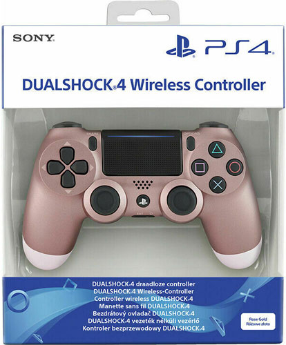 PS4 Controller org. Rose Gold wireless